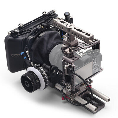 TILTA Rig Cage MatteBox Follow Focus For Sony A7 A7II A7S A7SII A7R A7RII Camera