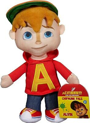 ALVIN SUPERSTAR Peluche 22cm Protagonista ALVIN Originale Fisher Price Chipmunks