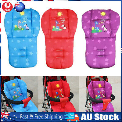 Baby Thick Pushchair Mat Cover Stroller Buggy Pram Giraffe Seat Liner Cushion
