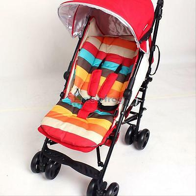 Rainbow Kid Baby Stroller Cushion Pad Pram Padding Liner/Car Seat Pad Waterproof