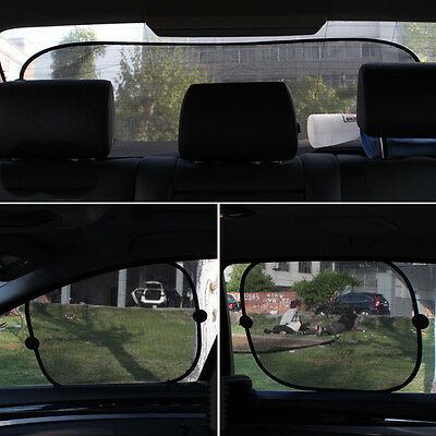 5X Car Sun Shade Baby with UV Protection for Your Kids Dog Window Sun Mesh Cover