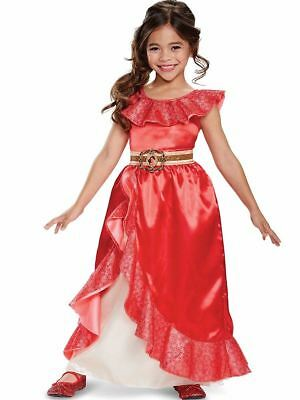 Elena von Avalor Adventure Outfit Luxus Kostüm 4-6X