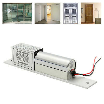 12V Electric Mortise Lock Magnetic Concealed For Access Control Wood Metal Door