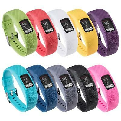 Replacement Silicone Wrist Band Bracelet Strap for Garmin VivoFit 4 Smart Watch
