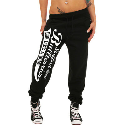 girls Jogginghose Staffordshire Bullterrier sweatpants hunde frauen dog am damen
