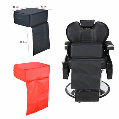 Child Kid Cushion Chair Seat Booster Barber Salon Haircut Hairdressing Black/Red