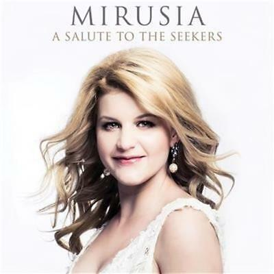 MIRUSIA A Salute To The Seekers (Personally Signed by Mirusia) CD NEW