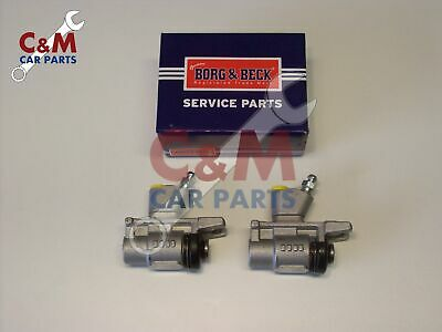 REAR BRAKE WHEEL CYLINDER PAIR for FORD CORTINA MK 2 - (Not GT or E) BORG & BECK
