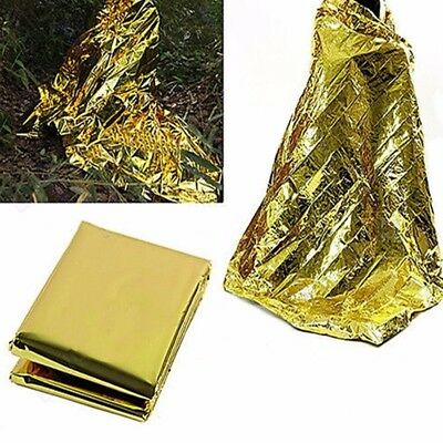 Outdoor Foil Space Blanket Emergency Survival Blanket Thermal Rescue First Aid