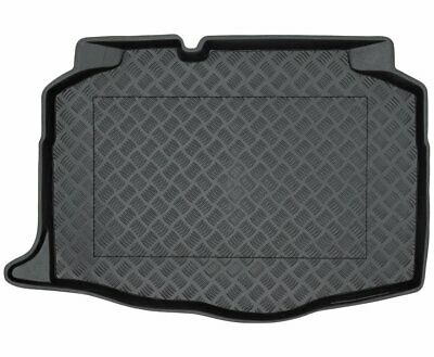TAILORED PVC BOOT LINER MAT TRAY for Seat Ibiza V HB 2017-(non-variable trunk fl