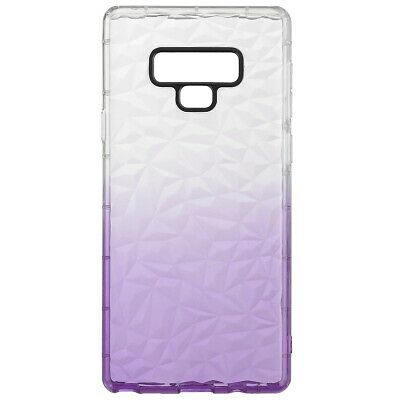 Pour Samsung Galaxy Note 9 Diamond Shockproof Cas Cover Soft Silicone Gel Violet