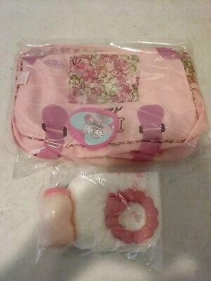 Baby Annabell doll changing bag Pink