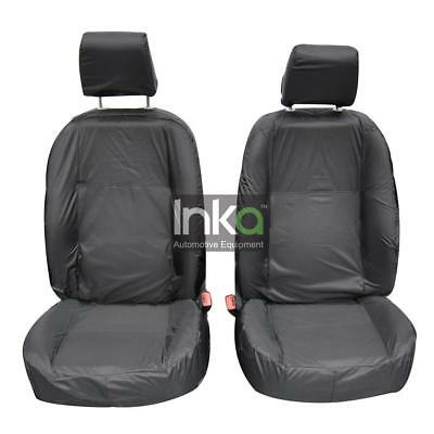 Freelander 1 Front Row Set Inka Fully Tailored Waterproof Seat Cover Grey