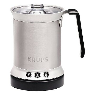 Krups Stainless Steel Automatic Milk Frother Mixing Frothy Foam Maker Whip Mixer
