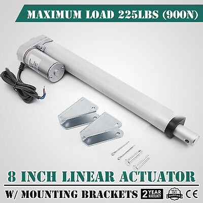 """8"""" 900N Linear Actuator 12V Electric Motor for Solar Track Auto Door Lifting"""