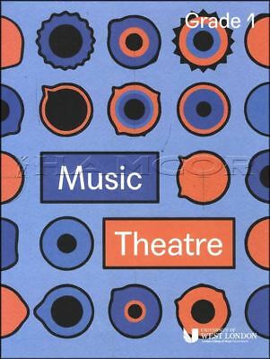 Music Theatre Grade 1 Sheet Music Book London College of Music Theory