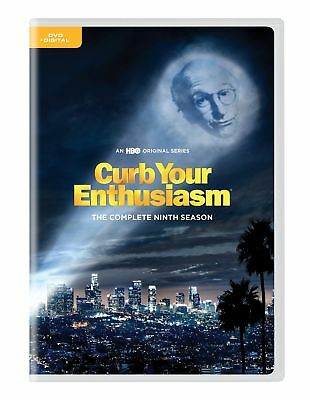 Curb Your Enthusiasm: Complete Ninth Season (DVD, 2018, 2-Disc Set) NEW