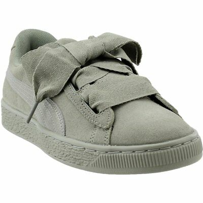 cd4af9233883c1 PUMA SUEDE HEART Snake Junior Sneakers - Grey - Girls -  29.95 ...
