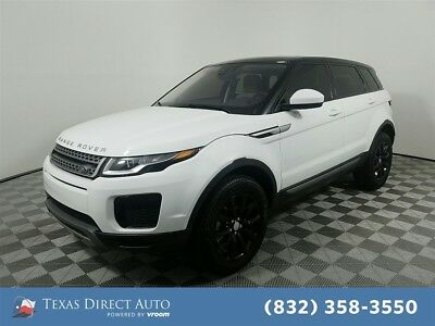 2018 Land Rover Range Rover AWD SE 4dr SUV Texas Direct Auto 2018 AWD SE 4dr SUV Used Turbo 2L I4 16V Automatic 4WD SUV