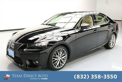 2016 Lexus IS  Texas Direct Auto 2016 Used 3.5L V6 24V Automatic AWD Sedan Premium