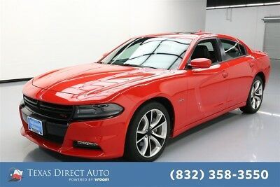 2016 Dodge Charger Road/Track Texas Direct Auto 2016 Road/Track Used 5.7L V8 16V Automatic RWD Sedan