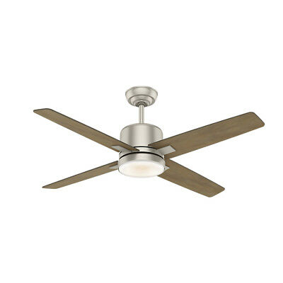 """Casablanca 59342 Axial 52"""" 4-Blade Integrated LED Ceiling Fan with Remote Contro"""
