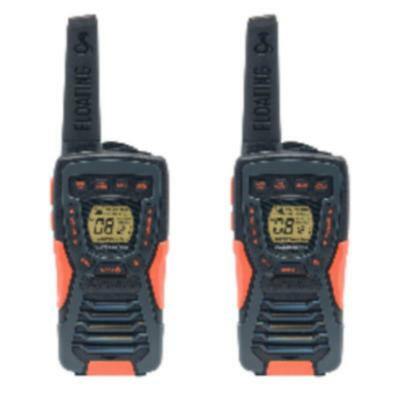 Talkie walkie pmr 8-channel noir/rouge