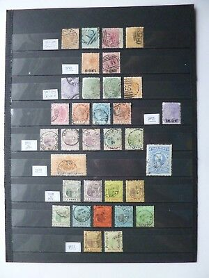 MAURITIUS :- 1863 - 1902 : Mint & Used selection.