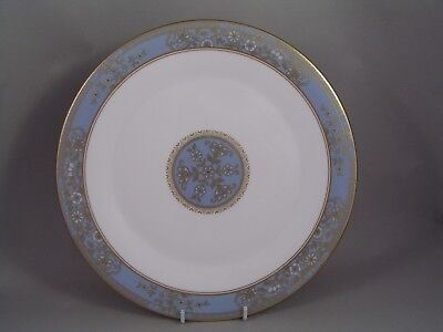 """Royal Doulton Carlyle  Blue 10 3/4"""" Dinner Plate, H 5258."""