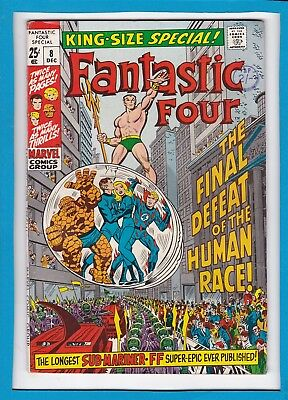 Fantastic Four King-Size Special #8_December 1970_Fine+_Sub-Mariner_Bronze Age!
