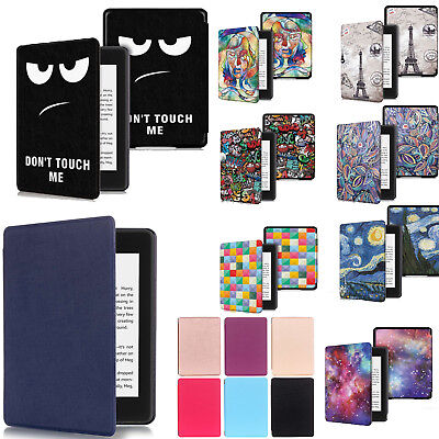 For Amazon Kindle Paperwhite 2018 Case Slim Smart Leather Flip Magnetic Cover