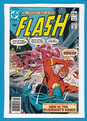 """The Flash #287_July 1980_Vf/nm_""""the Man In The Alchemist's Mask""""_Bronze Age Uk!"""