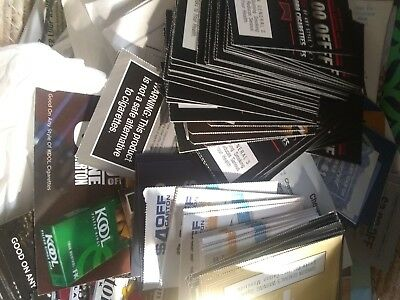Huge Tobacco Cigarette Coupon Lot Marlboro L&m Copenhagen Skoal Winston & More