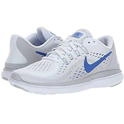 pretty nice ec93e 54ec5 Nib Womens Nike 898476 015 Flex 2017 Rn Running Greyroyal Sneakers Shoe  90