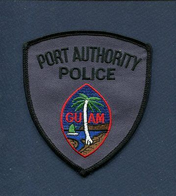 GUAM USA PORT AUTHORITY POLICE DEPARTMENT Uniform Jacket Patch