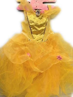 Belle Deluxe Disney Princess Beauty & The Beast Costume, Small/4-6X