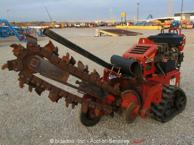 """2014 Ditch Witch D-W RT16 Walk Behind 36"""" Trench Depth 4"""" Width Trencher"""
