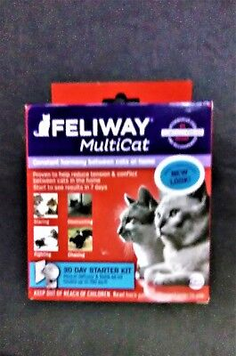 Feliway Plug In Multicat Diffuser Starter Kit for Cats - UPC: 899484001319