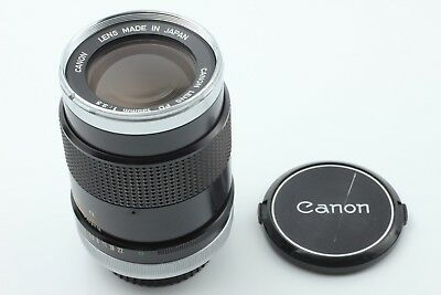 Canon FD 135mm f/3.5 MF Telephoto Lens A-1 AE-1 F-1 From Japan Excellent