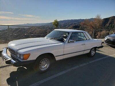 1981 Mercedes-Benz 300-Series mercedes benz classic SL Classic1981 Mercedes Benz 380 SLC roadster coupe 4seater sunroof hardtop