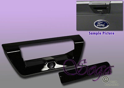 2004-2014 Ford F150 Crew cab GLOSS BLACK Door Handle Covers noKP noPH+Tailgate C