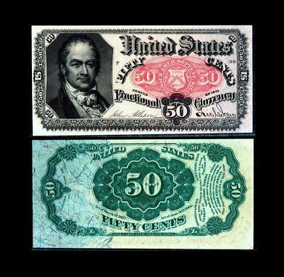 Fr. 1381 50¢ Fifth Issue ~~ALMOST UNCIRCULATED