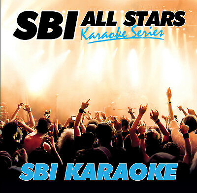 Female Turbo Pack 15 Disc Set Sbi All Stars Karaoke Cd+G / 225 Tracks