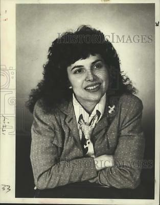 1982 Press Photo Cyndy Knowles, lead singer for Penrose Rock group - lrp02191