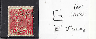 """.1914-24 11/2d George V """"Variety as per scan"""" Used"""