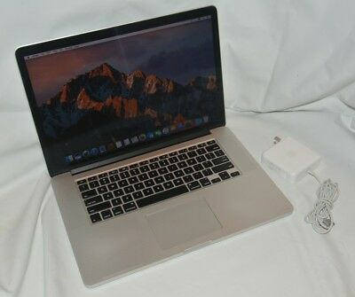 "15"" Apple MacBook Pro Retina 2.0GHz Intel Core i7, 256GB SSD, 8GB RAM - A1398"