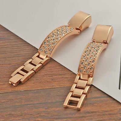 Zinc Alloy Jewelry Bangle Watch Band Bracelet Strap for Fitbit Alta/Alta HR