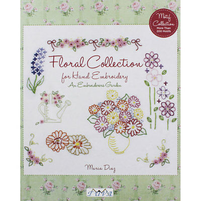 Floral Collection for Hand Embroidery (Paperback), Non Fiction Books, Brand New