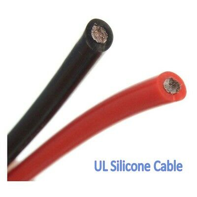 6AWG UL Silicone Cable Flexible Wire 0.08MM RC Cable Resistant High Temperature