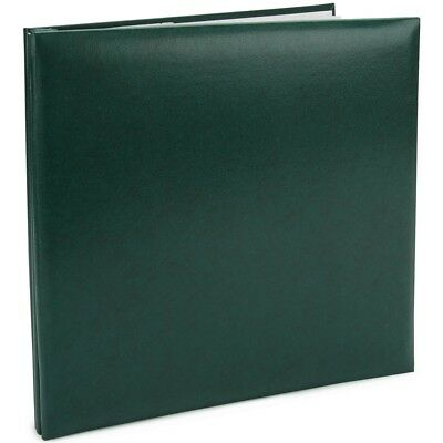 "Pioneer Leatherette Post Bound Album 12""x12""-green"
